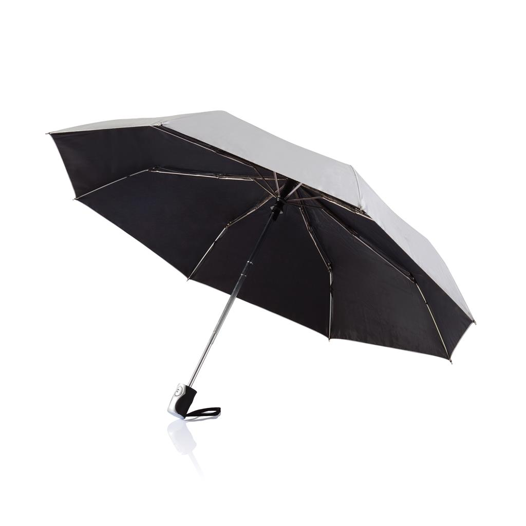 "Deluxe 21.5"" 2 In 1 Auto Open Close Umbrella"
