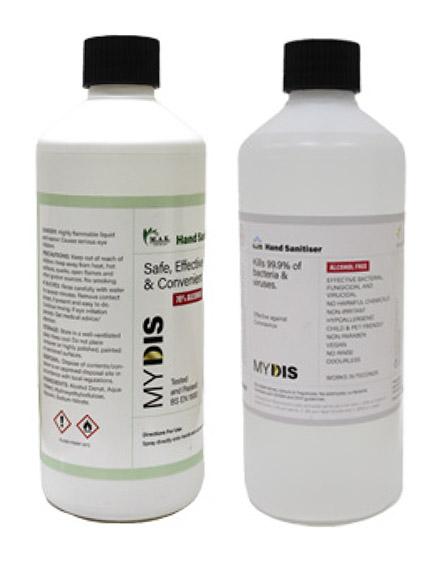 Sanitising Hand Gel for Covid-19 Virus UK