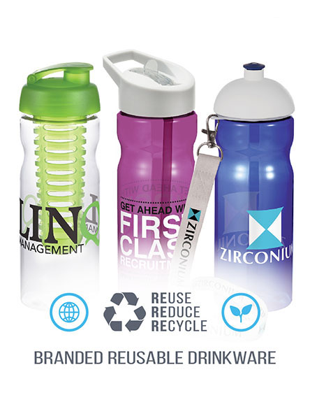 h20 base sports water bottles branded and printed
