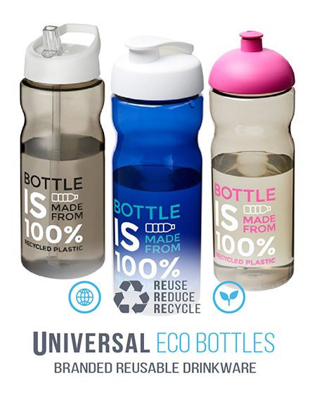 ECO Recycled Water Bottles