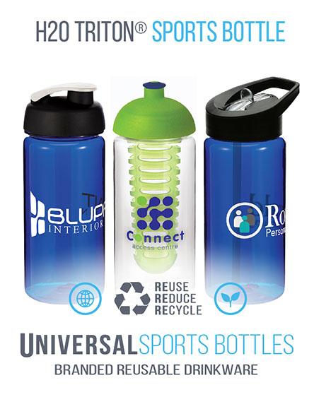 H20 Octave Tritan Sports Bottles