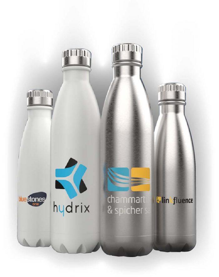 stainless steel branded bottles