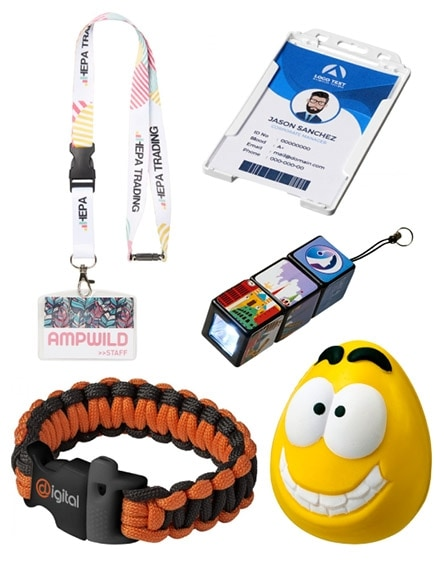 branded events and giveaways