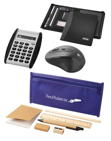 branded desk and office promotional items