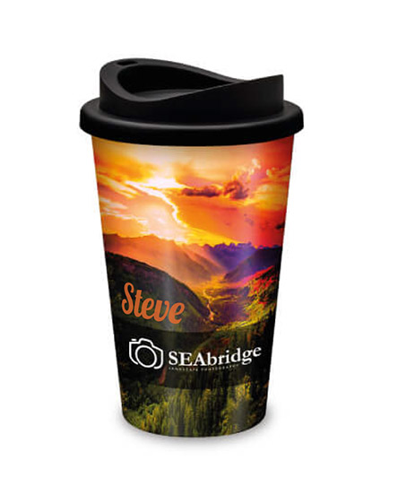 universal full colour reusable cups individually personalised